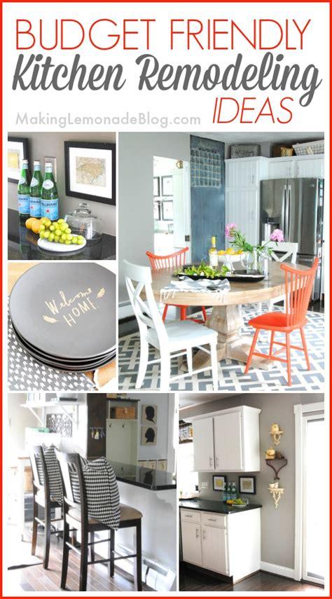 Budgetfriendly Modern White Kitchen Renovation {home Tour