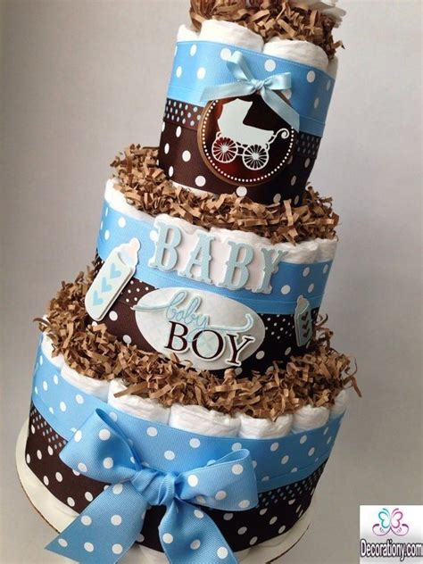 deco baby shower garcon 13 easy cake decorating ideas for baby shower