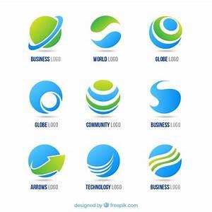 Globe logos Vector | Free Download