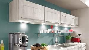 Cuisine quelle couleur associer avec le bois darty for Idee deco cuisine avec cuisine blanche et noire quelle couleur pour les murs