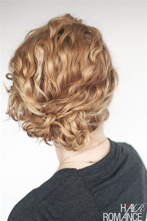 Easy Updo Hairstyle Tutorials by Easy Updo Hairstyle Tutorial For Curly Hair Hair