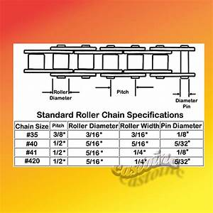 Roller Chain 3 4  U0026 10 Ft With Connecting Link  Fits Mini