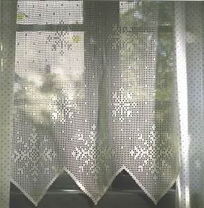 Needle Works Butterfly Filet Crochet Curtains