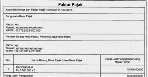 ketentuan pembuatan faktur pajak elektronik e faktur