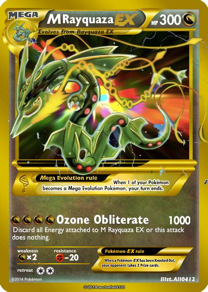 rayquaza ex deck 2014 rayquaza ex cards images images
