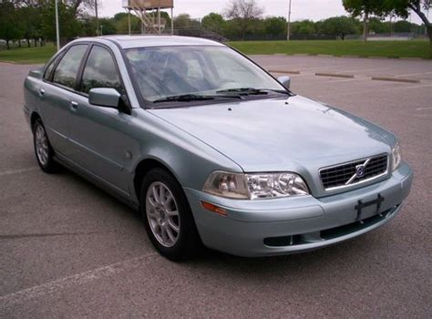2003 Volvo S40 For Sale by Purchase Used 2003 Volvo S40 1 9t Turbo Tin Silver
