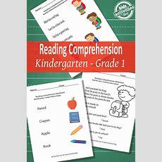Back To School Reading Comprehension Worksheets {free Printable}