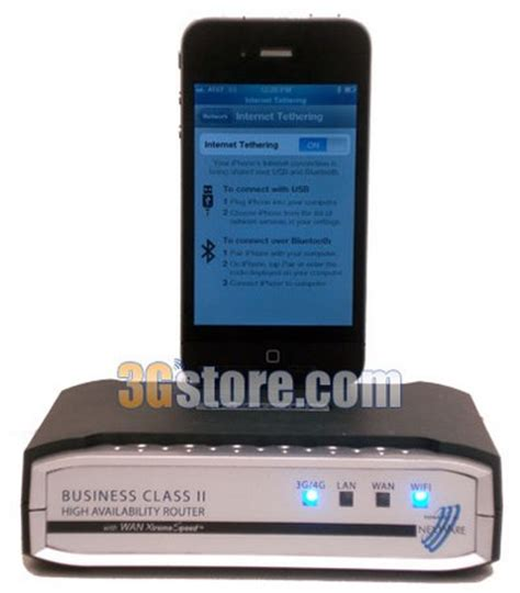 how to tether iphone nexaria bc2 router supports iphone tethering for some