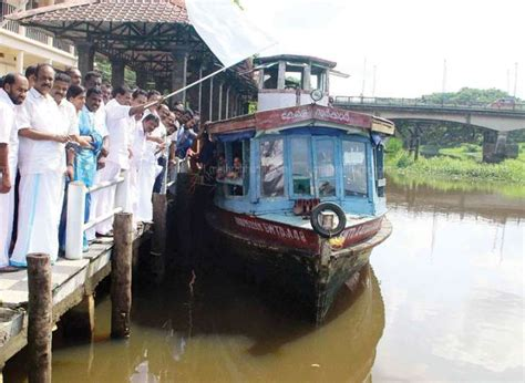 Boat Service Kerala by Boat Service Commences From Kottayam To Alappuzha