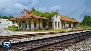 Mission Revival Railroad Depot Time-lapse