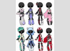 Adopted Outfit Batch 01 by DevilAdopts on DeviantArt