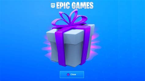 gift  fortnite youtube