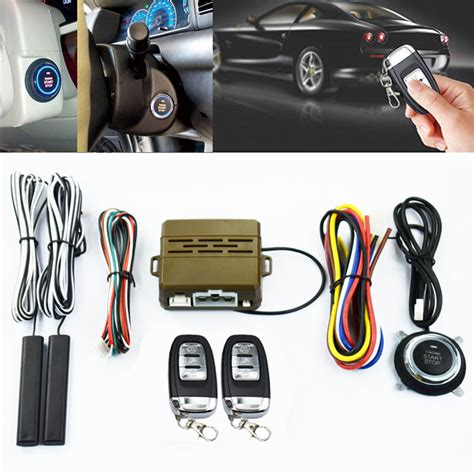 Other Parts Accessories Car Alarm System Pke Keyless