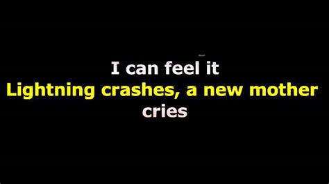 crashes lyrics throwing copper lightning crashes lyrics Lighting