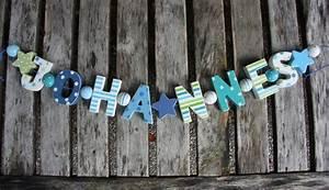 Buchstaben Deko Kinderzimmer : johannes namenskette shabby chic holz buchstaben holzbuchstaben kinderzimmer t r kinderzimmer ~ Orissabook.com Haus und Dekorationen