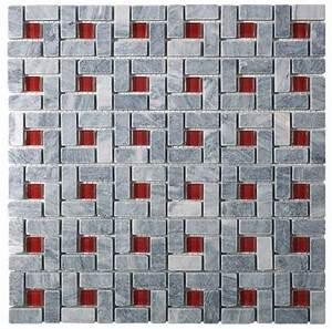 les concepteurs artistiques mosaique salle de bain rouge With mosaique rouge salle de bain