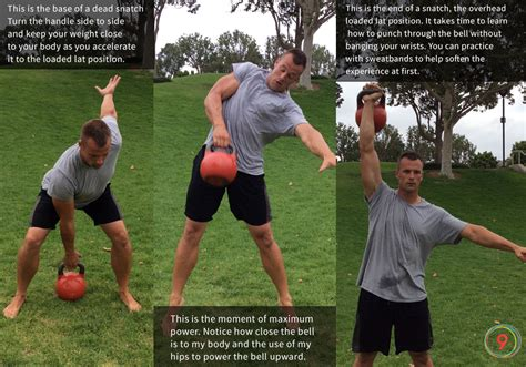 kettlebell snatch workouts press basic movements clean form depth teaching