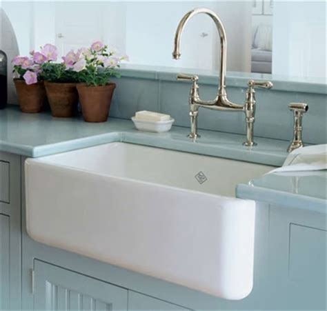 kitchen sinks white porcelain shaws classic butler ceramic sink 6096