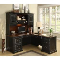 riverside bridgeport l shaped computer desk with optional
