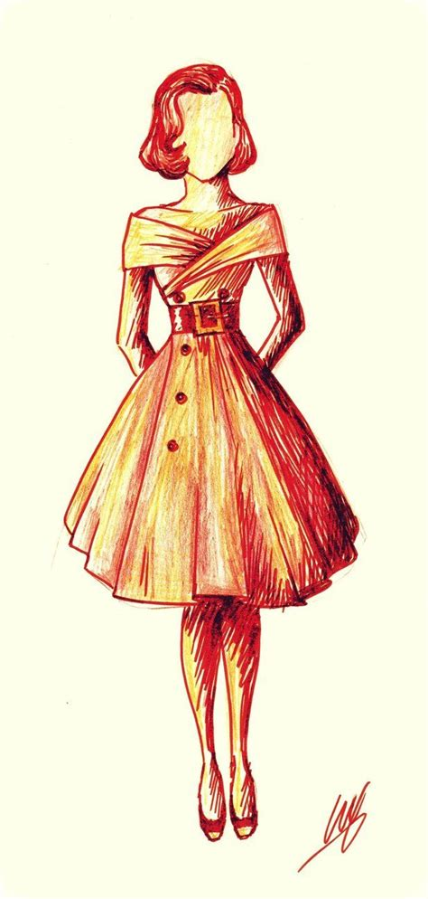 fashion  fashion sketch   lucrecha art