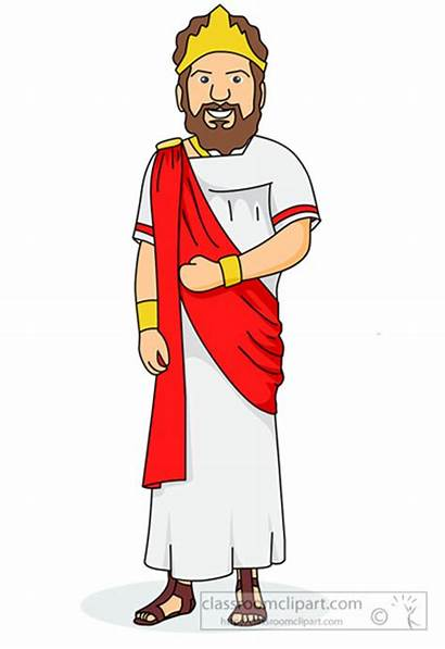 Greek Ancient King Greece Clipart Clip Royal