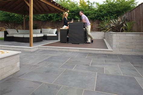 design for outdoor slate tile ideas 24103
