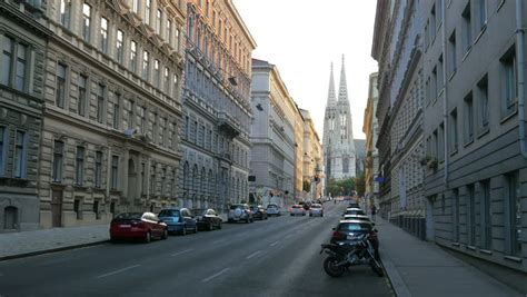 street view  buildings  road  vienna austria