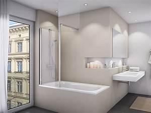 Duschwand Badewanne 160 : duschwand badewanne 50 x 150 cm badewannentrennwand ~ Lizthompson.info Haus und Dekorationen