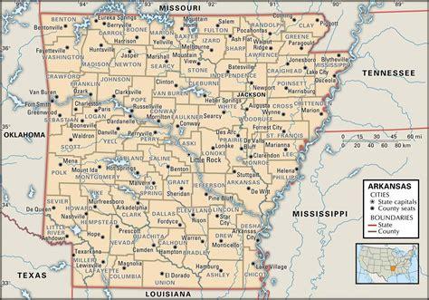 arkansasatlasmap map  arkansas county boundaries