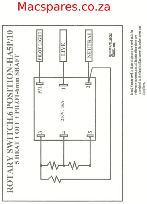 Wiring Diagrams Stoves Switches Thermostats