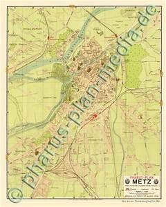 Plan De Metz : pharus pharus historischer stadtplan metz 1911 ~ Farleysfitness.com Idées de Décoration