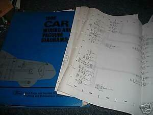 1988 Ford Taurus Wiring Diagram : 1988 1 2 ford escort oem wiring vacuum diagrams manual set ~ A.2002-acura-tl-radio.info Haus und Dekorationen