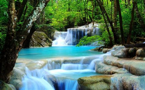 Free Download 3d Waterfall Live Wallpaper Which Is Under The Waterfall Wallpapers 2560x1600