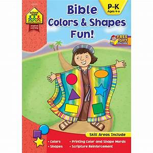 Bible Colors & Shapes Fun! Reinforces Readiness Skills and ...