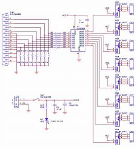 8 Channel Lpt Relay Board