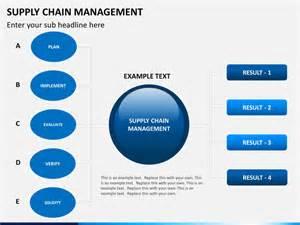Supply Chain Management PowerPoint