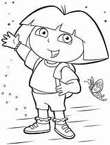 Dora Explorer Coloring Pages Print Printable Drawing Worksheets Kindergarten Sheets Preschool Map Nick Jr Coloringhome Children Sketch Star Books Crafts sketch template