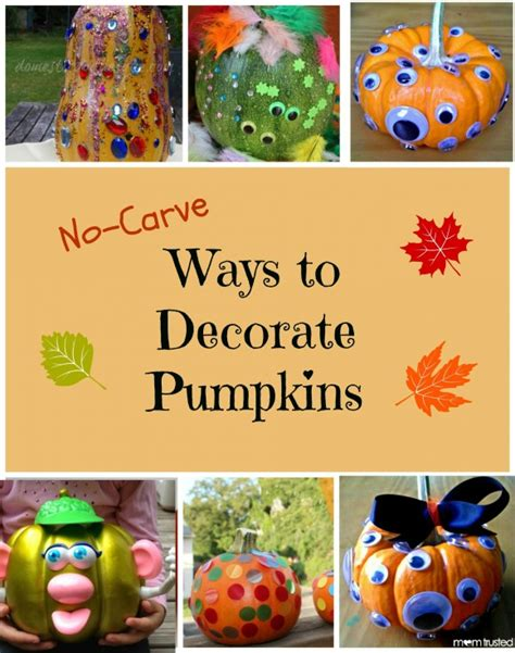 ways to decorate pumpkins no carve ways to decorate pumpkins travel events culture tips for americans stationed in