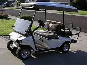 Custom Club Car 48 Volt Electric Golf Cart