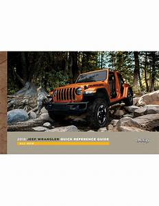 Jeep 2018 Wrangler Jl Suv Quick Reference Guide