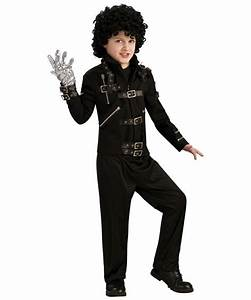 Michael Jackson - Bad Buckle Jacket - Kids Costume Deluxe ...