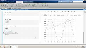 Plot And Subplot Command Using Matlab Live Editor