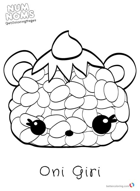 Num Noms Kleurplaat by Free Num Noms Coloring Pages Free Printable Coloring Pages