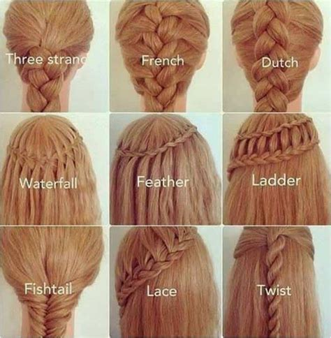 25 easy hairstyles with braids how to