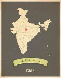 Not exactly whe... India Map Quotes