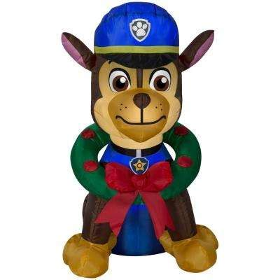 paw patrol christmas inflatables outdoor christmas