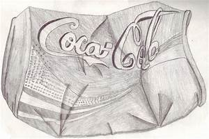 Crushed Coke Can by Acrasai on DeviantArt
