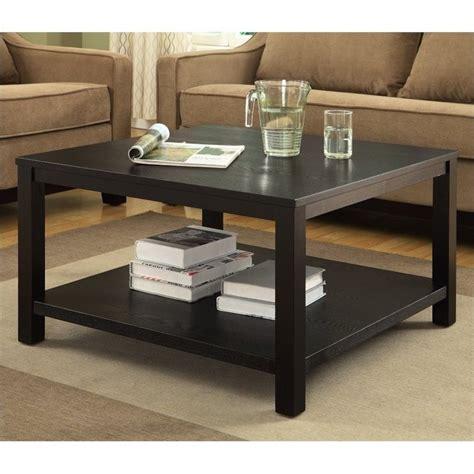 """30"""" Square Coffee Table In Black Mrg12sr1bk"""