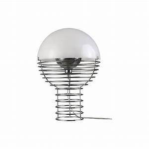Lampe A Poser Design : lampe a poser design table ampoule verpan ~ Preciouscoupons.com Idées de Décoration