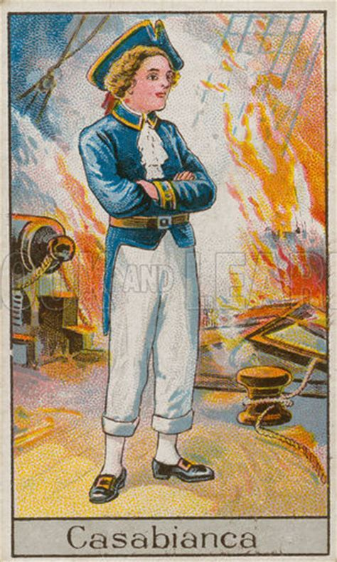 The Boy Stood On The Burning Deck by Historical Articles And Illustrations 187 Archive